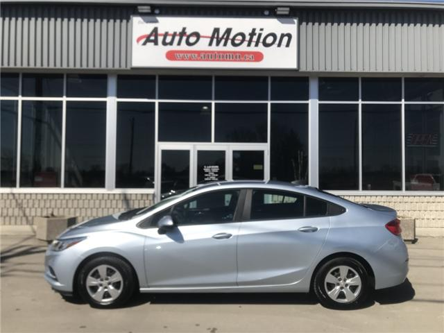 2017 Chevrolet Cruze LS Manual (Stk: 19267) in Chatham - Image 3 of 19