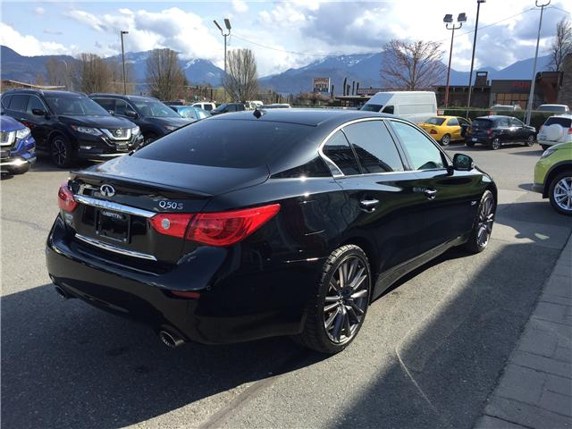 2016 Infiniti Q50 Red Sport 400 (Stk: N88-3303A) in Chilliwack - Image 4 of 18