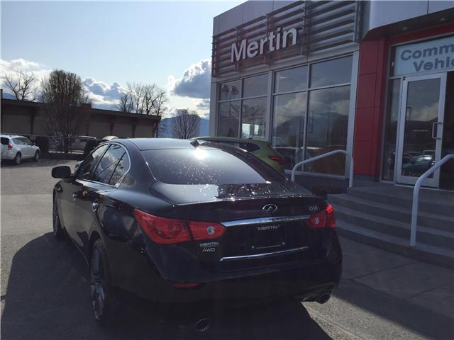 2016 Infiniti Q50 Red Sport 400 (Stk: N88-3303A) in Chilliwack - Image 7 of 18
