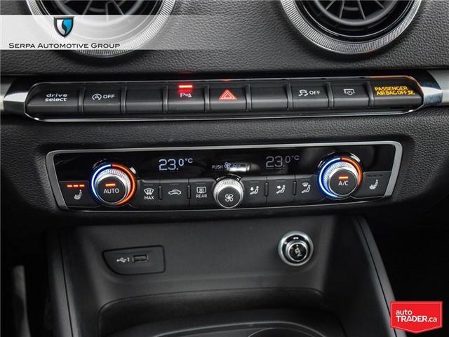 2018 Audi A3 2.0T Technik (Stk: P1271) in Aurora - Image 22 of 27