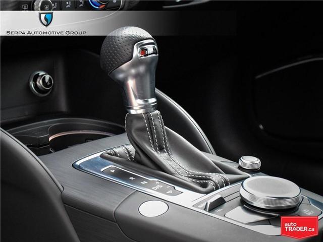 2018 Audi A3 2.0T Technik (Stk: P1271) in Aurora - Image 23 of 27