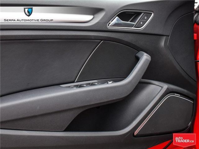 2018 Audi A3 2.0T Technik (Stk: P1271) in Aurora - Image 25 of 27