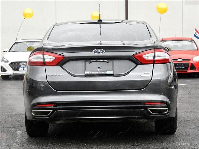 2016 Ford Fusion SE (Stk: PR7354) in Windsor - Image 5 of 27