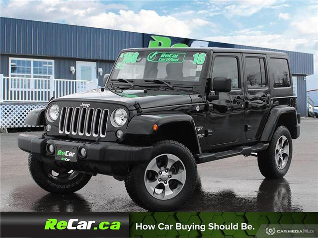 2016 Jeep Wrangler Unlimited Sahara (Stk: 190234a) in Saint John - Image 1 of 25