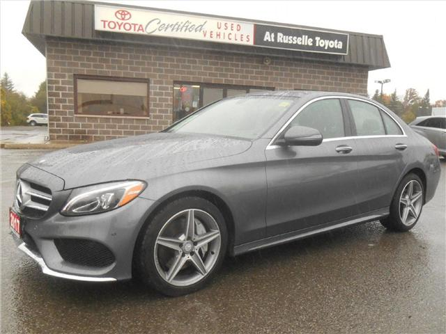 2017 Mercedes-Benz C-Class Base (Stk: U7272) in Peterborough - Image 1 of 22