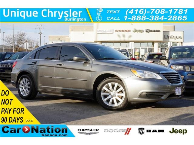 2012 Chrysler 200 LX| BLUETOOTH| USB AUDIO|-DIMMING MIRROR (Stk: K117A) in Burlington - Image 1 of 30