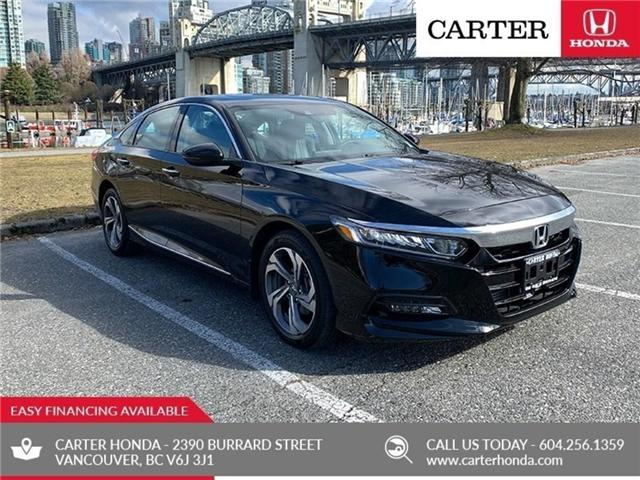 2018 Honda Accord EX-L (Stk: 6K24751) in Vancouver - Image 1 of 26