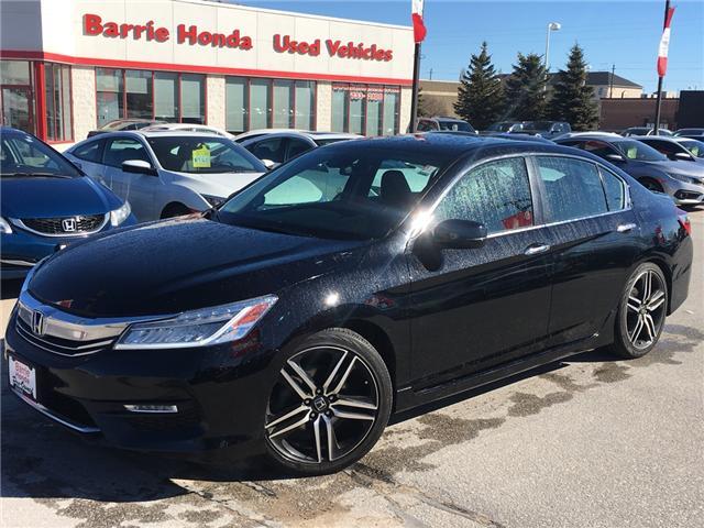 2016 Honda Accord Touring (Stk: U16217) in Barrie - Image 1 of 18