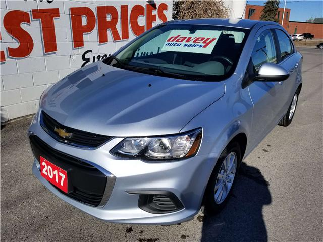 2017 Chevrolet Sonic LT Auto (Stk: 19-182) in Oshawa - Image 1 of 13