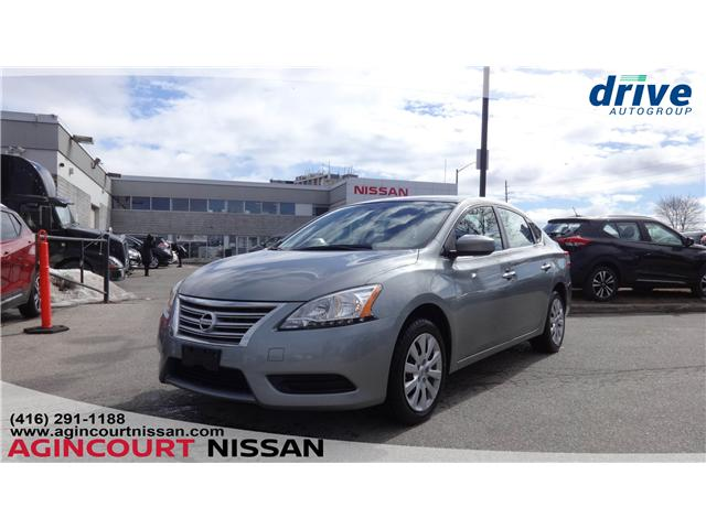 2014 Nissan Sentra 1.8 S (Stk: KL494558A) in Scarborough - Image 1 of 18