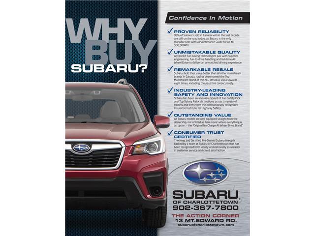 2019 Subaru Crosstrek Sport (Stk: SUB1782T) in Charlottetown - Image 2 of 10