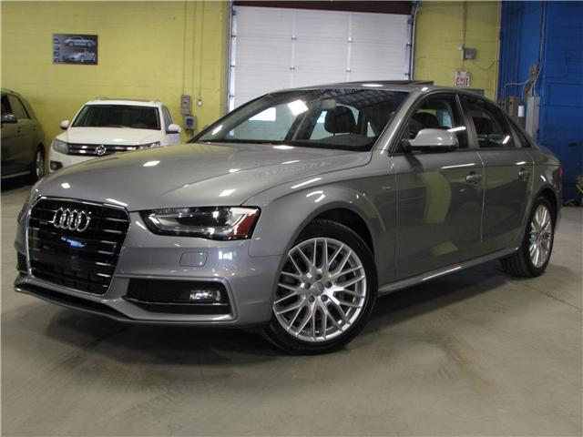 2015 Audi A4 2.0T Komfort (Stk: C5558) in North York - Image 1 of 17