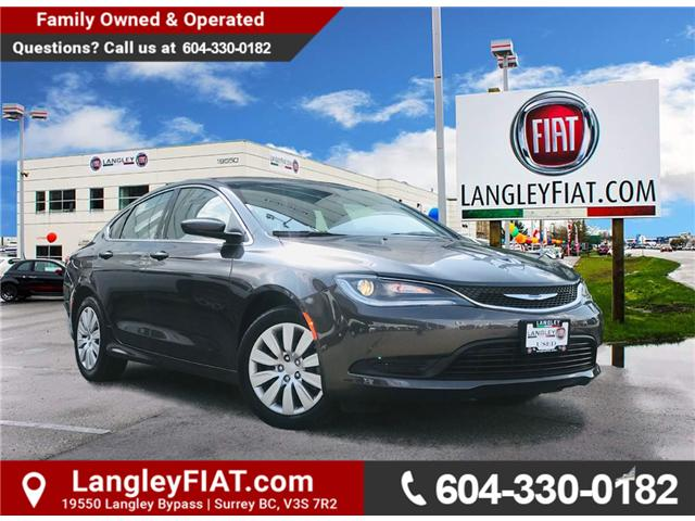 2017 Chrysler 200 LX (Stk: LF009970) in Surrey - Image 1 of 30