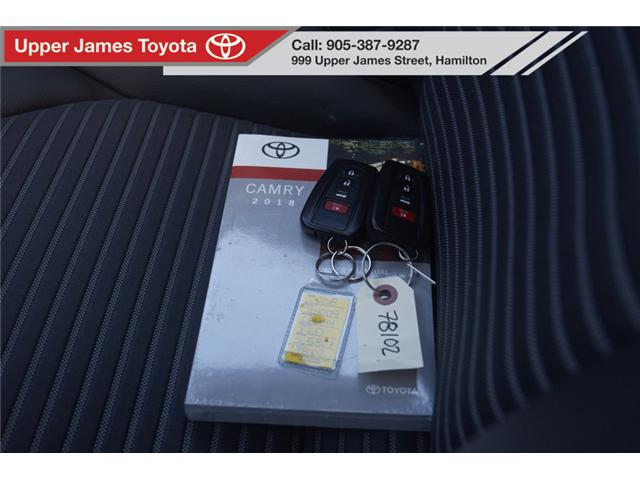 2018 Toyota Camry SE (Stk: 78102) in Hamilton - Image 9 of 20