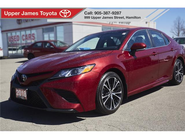 2018 Toyota Camry SE (Stk: 78102) in Hamilton - Image 1 of 20