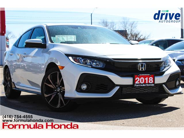 2018 Honda Civic Sport (Stk: 19-0944A) in Scarborough - Image 1 of 27