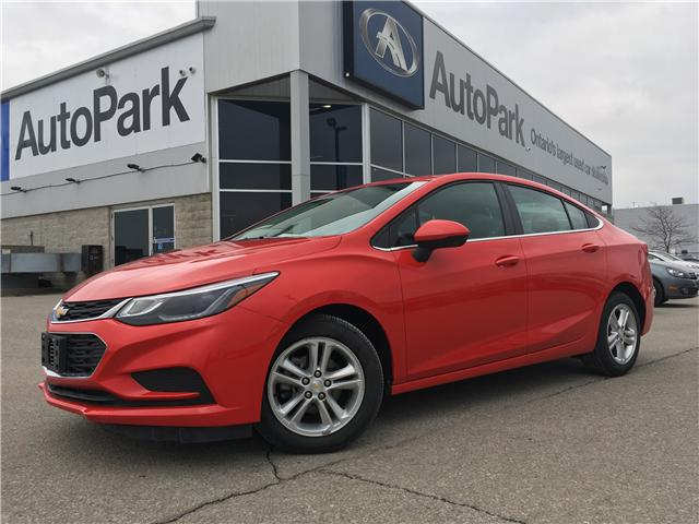 2017 Chevrolet Cruze LT Auto (Stk: 17-95665RJB) in Barrie - Image 1 of 26