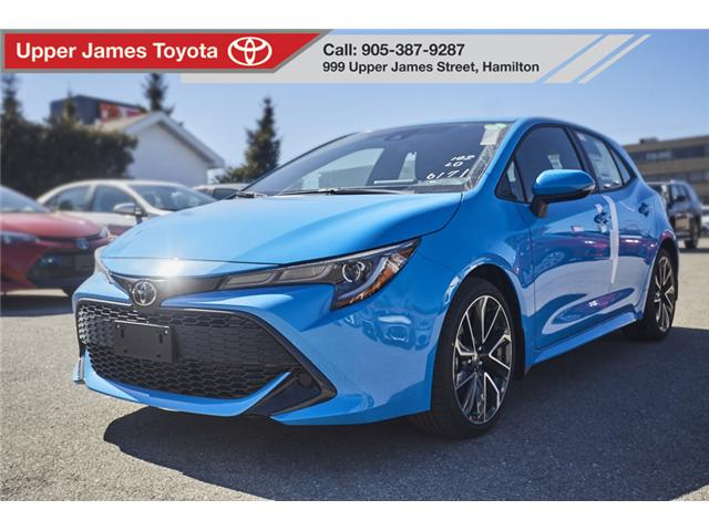 2019 Toyota Corolla Hatchback Base (Stk: 190416) in Hamilton - Image 1 of 16
