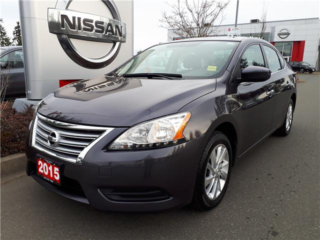 2015 Nissan Sentra 1.8 SV (Stk: 9Q7568B) in Courtenay - Image 1 of 9