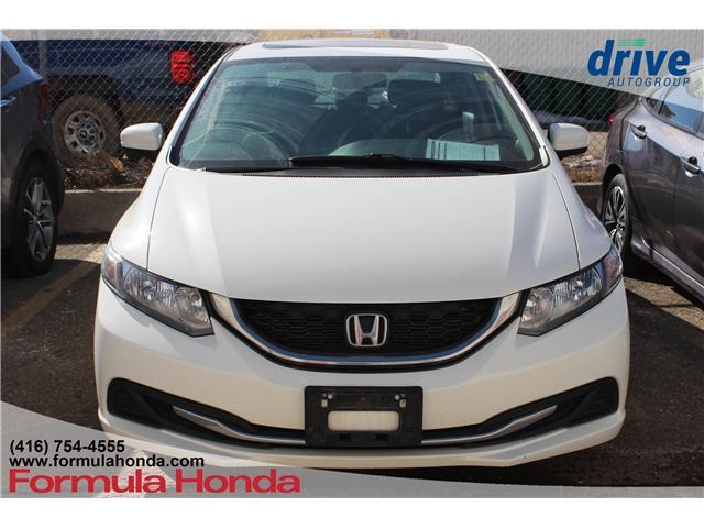 2015 Honda Civic EX (Stk: B11033) in Scarborough - Image 2 of 7