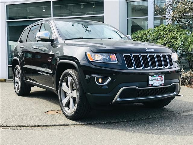 2015 Jeep Grand Cherokee Limited Heated Leather Memory Seats, Power