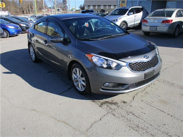 2015 Kia Forte 1.8L LX+ (Stk: 190191) in Kingston - Image 1 of 12