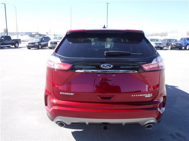 2019 Ford Edge Titanium (Stk: 19-99) in Kapuskasing - Image 4 of 11