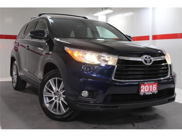 2016 Toyota Highlander XLE (Stk: 297684S) in Markham - Image 1 of 27