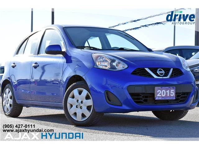 2015 Nissan Micra SV (Stk: 19411A) in Ajax - Image 1 of 22
