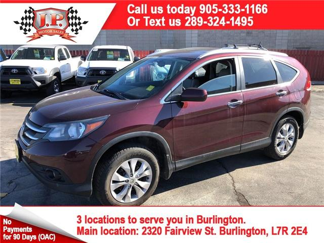 2014 Honda CR-V Touring (Stk: 46140) in Burlington - Image 1 of 26