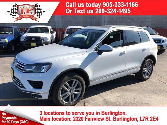 2015 Volkswagen Touareg  (Stk: 46246) in Burlington - Image 1 of 27
