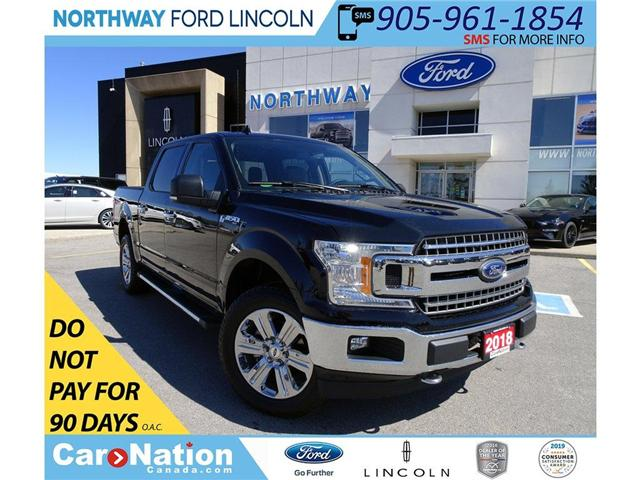 2018 Ford F-150 XLT | NAV | HTD SEATS | 5.0L V8 | XTR | (Stk: F196162A) in Brantford - Image 1 of 40