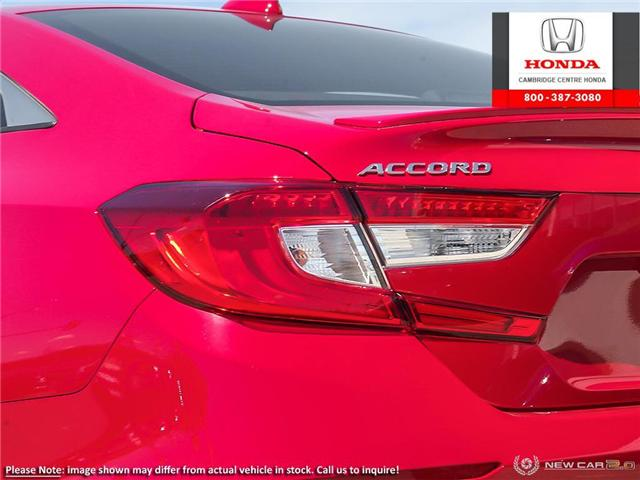 2019 Honda Accord Sport 1.5T (Stk: 19610) in Cambridge - Image 11 of 24