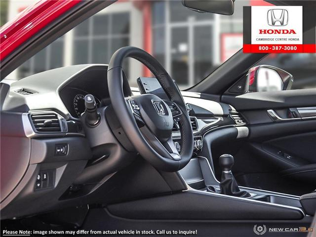 2019 Honda Accord Sport 1.5T (Stk: 19610) in Cambridge - Image 12 of 24