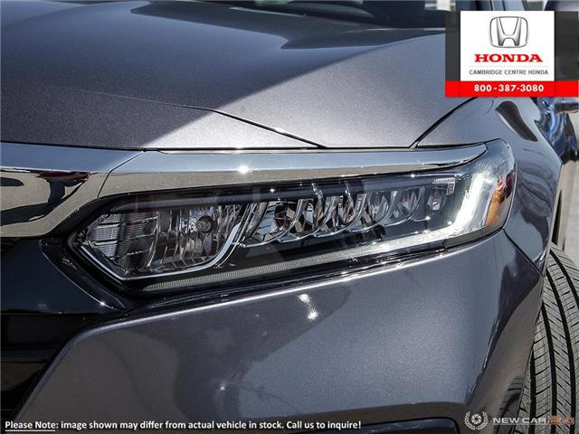 2019 Honda Accord EX-L 1.5T (Stk: 19609) in Cambridge - Image 10 of 24