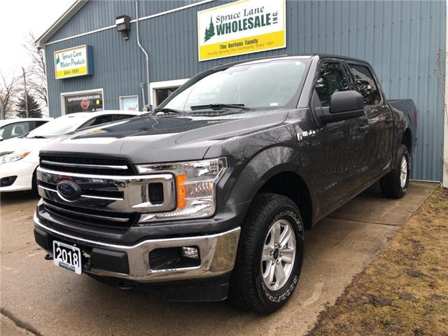 2018 Ford F-150 XLT (Stk: 62899) in Belmont - Image 1 of 12