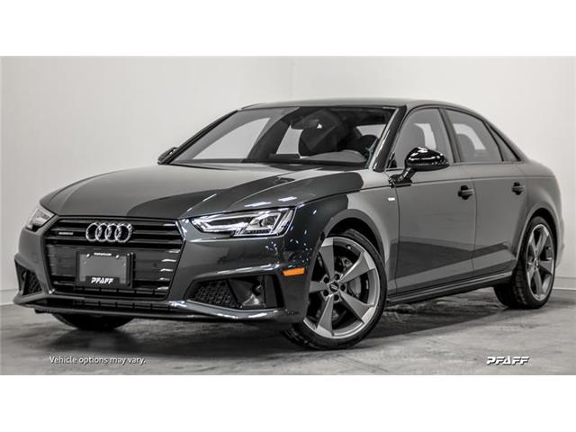 2019 Audi A4 45 Progressiv (Stk: T16111) in Vaughan - Image 1 of 17