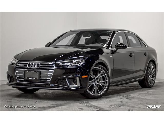 2019 Audi A4 45 Tecknik (Stk: T16118) in Vaughan - Image 1 of 19