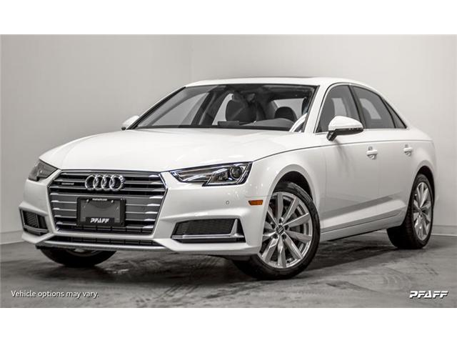 2019 Audi A4 45 Komfort (Stk: T16127) in Vaughan - Image 1 of 16