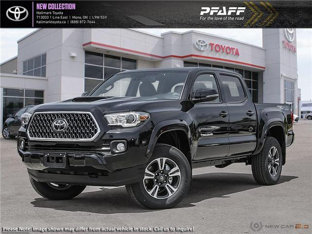 2019 Toyota Tacoma 4x4 Double Cab V6 TRD Sport 6M (Stk: H19349) in Orangeville - Image 1 of 24