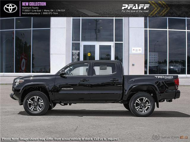 2019 Toyota Tacoma 4x4 Double Cab V6 TRD Sport 6M (Stk: H19349) in Orangeville - Image 3 of 24