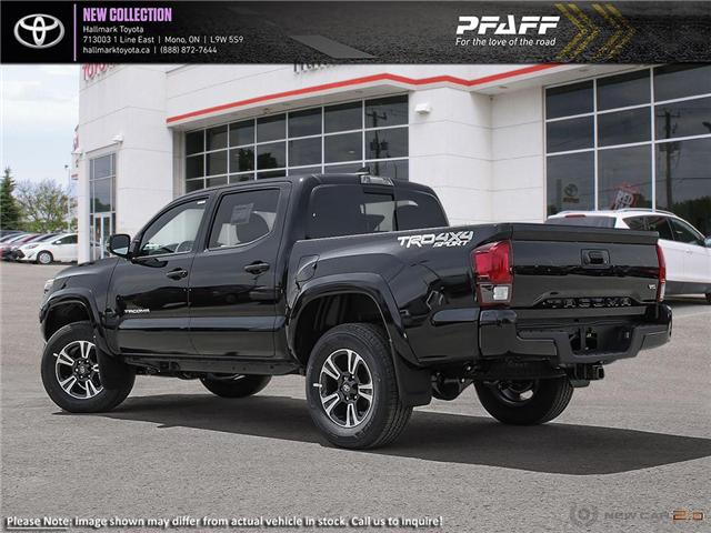 2019 Toyota Tacoma 4x4 Double Cab V6 TRD Sport 6M (Stk: H19349) in Orangeville - Image 4 of 24