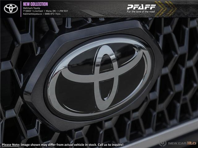 2019 Toyota Tacoma 4x4 Double Cab V6 TRD Sport 6M (Stk: H19349) in Orangeville - Image 9 of 24