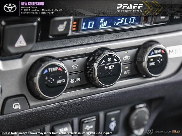 2019 Toyota Tacoma 4x4 Double Cab V6 TRD Sport 6M (Stk: H19349) in Orangeville - Image 19 of 24