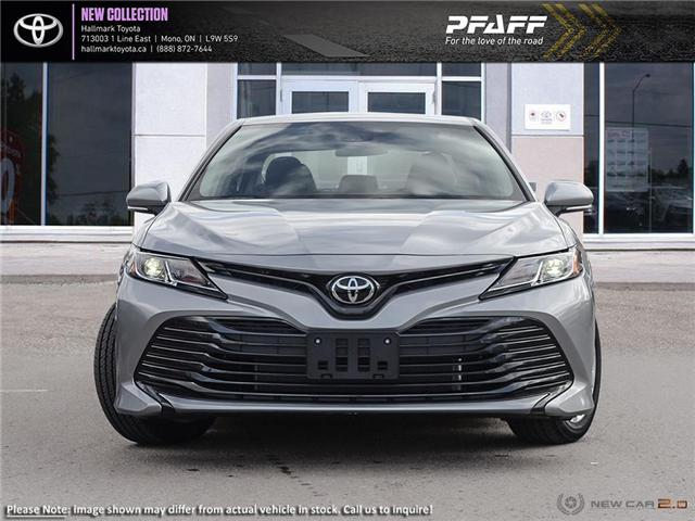 2019 Toyota Camry 4-Door Sedan LE 6A (Stk: H19351) in Orangeville - Image 2 of 24