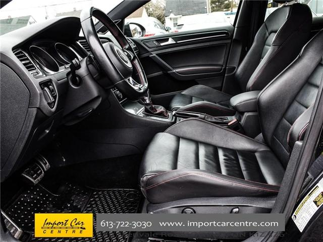 2015 Volkswagen Golf GTI 5-Door Autobahn (Stk: 001778) in Ottawa - Image 13 of 30