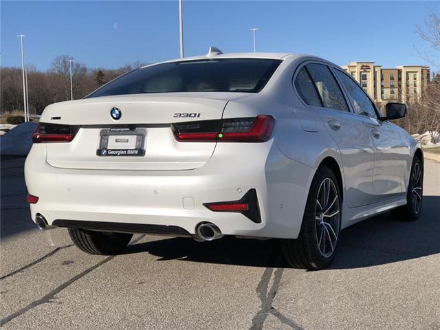 2019 BMW 330i xDrive (Stk: B19135) in Barrie - Image 8 of 20