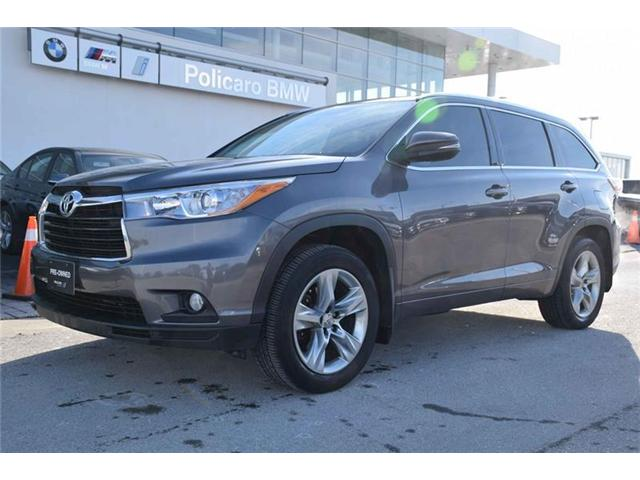 2015 Toyota Highlander Limited (Stk: PP04281A) in Brampton - Image 1 of 14