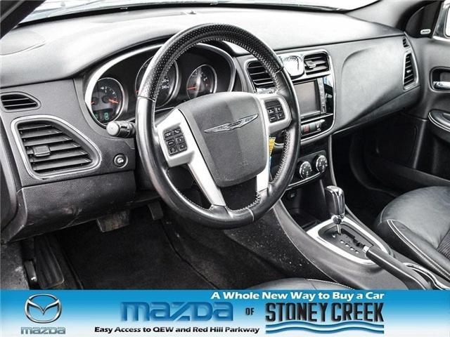 2012 Chrysler 200 S (Stk: SR1030A) in Hamilton - Image 12 of 21