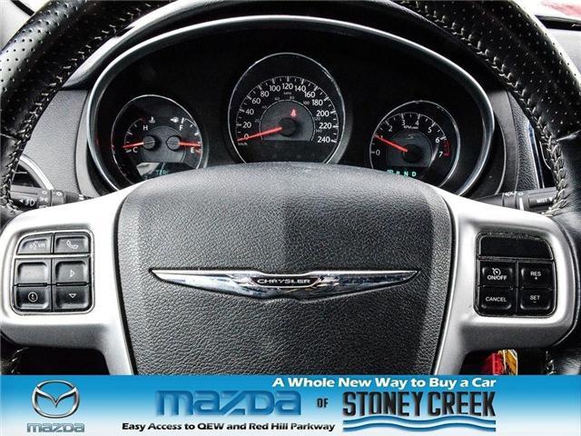 2012 Chrysler 200 S (Stk: SR1030A) in Hamilton - Image 19 of 21